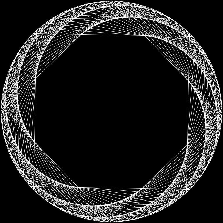 geometric string art instructions